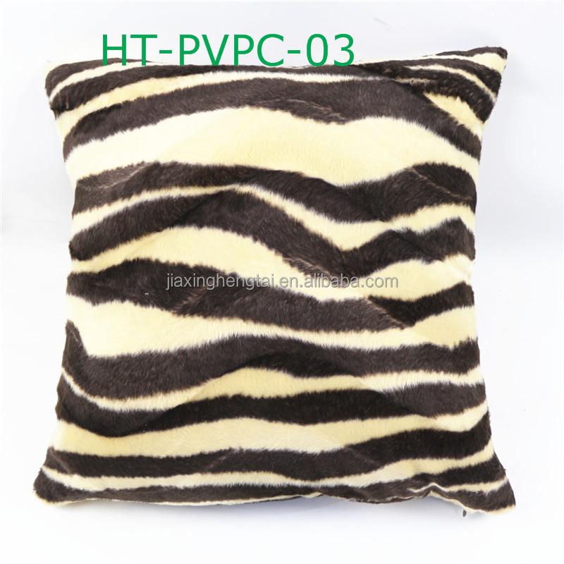 Decoratieve sierkussen geval velours fluwelen tijger dier luipaard print ree n sofa kussenhoes - Koffiebar decoratie ...
