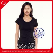 2015 China supplier custom women t shirt blank wholesale