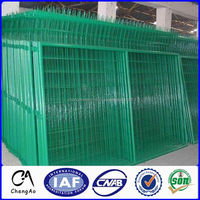 High Quality 10 Gauge Green PVC Coated Welded Wire Mesh Panel For Fence