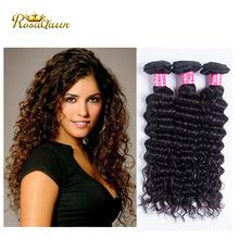 Factory Price Good Quality Deep Wave Malaysian Hair Full Cuticles Raw Unprocessed Virgin Malaysain Hair