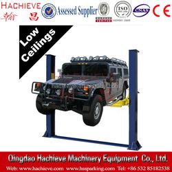 Auto service shop two post lift / floor plate 2 post lift