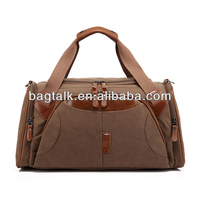 Natural Promotional Cotton Canvas Duffle Bags Wholesale