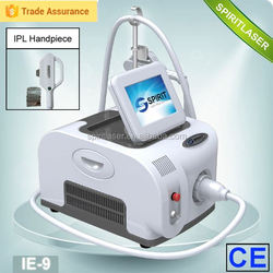 Home beauty device first choice~! home user portable small IPL beauty machine IE-9