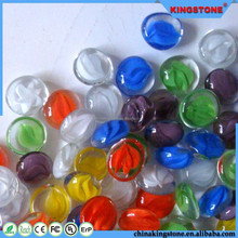 Kingstone glass balls brand supplier 11-19mm colorful tree glass ball decoration