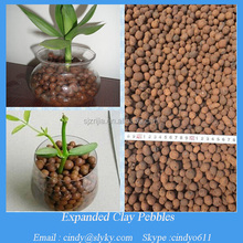 hydroponic grow medium expanded clay ball for plants