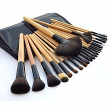 24 pcs Makeup Brush Set with Soft Quality PU Pouch