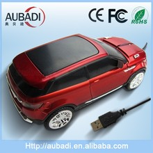 Promotional Gift High Quality Beauty Optical 2.4 G Land Rover Car Shape Mouse