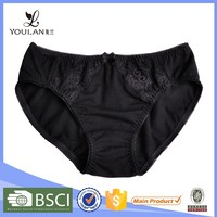 on sale popular breathable black lace girls with panty lines