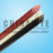 300v flexible silicone rubber electric cable sleeve