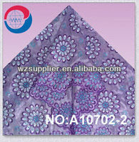 2013 new african organza lace with sequins for wedding dress ivory