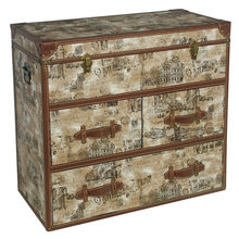 Fuzhou factory drawer chest antique for USA