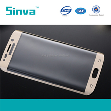 3D 9h hardness Full cover glass screen guard film for galaxy s6 edge plus with 0.33mm/0.2mm