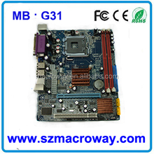 Cheap hot selling itx 775 socket motherboard in large stock