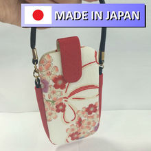 android phone case bag for mobile phone and camera in japanese traditional pattern design