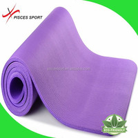 Manufacturing Natural Rubber NBR Yoga Mat Thick 1CM