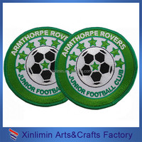 High quality Embroidered Patches band patch for clothing