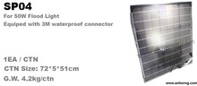 50W Rechargeable Led slim floodlight accessary Solar Panel