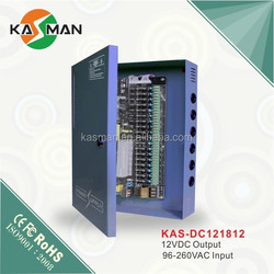 kasman electric cabinet pfc function 12v 5a power supply cctv power supply dc switching power supply KAS-DC121812
