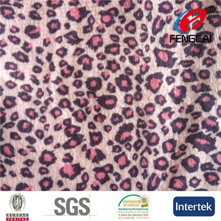 Profesional Supply impreso tejido de punto con pequeñas <span class=keywords><strong>manchas</strong></span>
