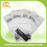 Accept Custom Order clear PVC plastic phone data line bag
