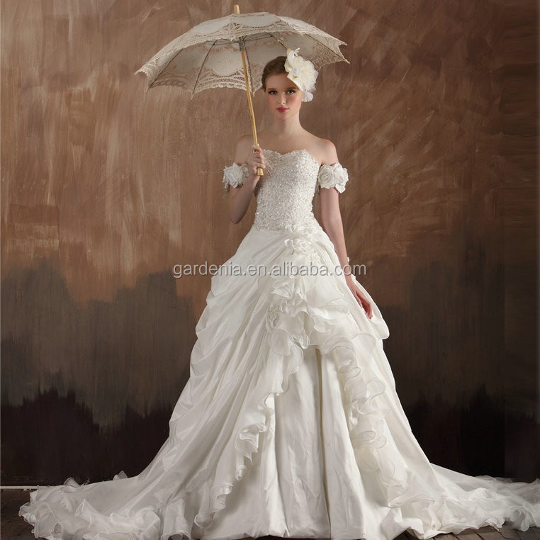 Long Sleeve Lace Ball Gown Wedding Dress Gown And Dress Gallery