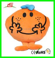 fruit shaped cushion plush toys custom fruit cushion pillow