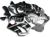cbr600rr race fairing for honda cbr 600 f4i 2001 2002 2003 fairing kit cbr600f4i 01 02 03 cbr f4i bodykit f4i silver black