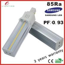aviation aluminum + best PC housing g24 led bulbs low cost