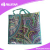 ASD2015A035 Promotional Foldable Non Woven Shopping tote Bag with hangtag