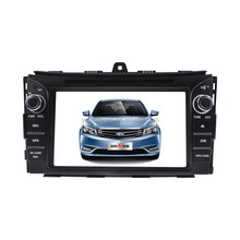 NEW MODEL!!7 inch car dvd for 2014 Geely EC7 with gps navigation+WINCE6.0+Hannstar Screen+Silicon Labs AM/FM tunner+MTK solution