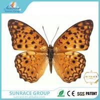New design aitificial butterfly make fabric butterfly paper garland decoration with great price