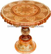 decorative wooden carved elephant coffee tables