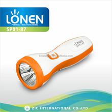 LONEN SP01-87 best 5LED stylish rechargeable led torch flashlight