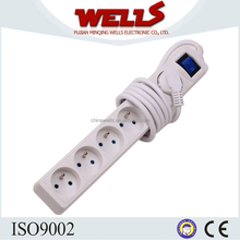 6 way children safety cover 15 amp switched socket