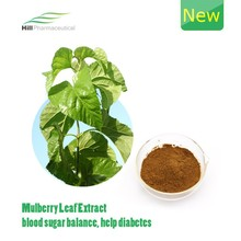 Mulberry leaf extract help diabetes/DNJ