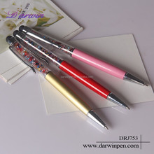 Stylus Crystalline Lady Ballpoint Gold Crystal Pen For Touch Screen Devices for Android Smart Phone