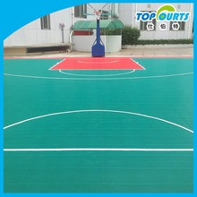 Low price durable basketball floor goods from china