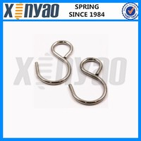 S stainless steel shaped hooks