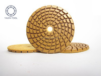 abrasive diamond polishing pad for concrete marble stone floor
