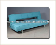 Home Leisure Folding Fabric Click Clack Sofa Bed
