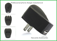 ac power adapter usb flat wall charger for samsung m620