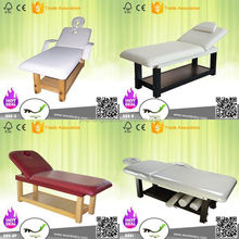 2015 new model 008 China factory spa furniture wooden massage table