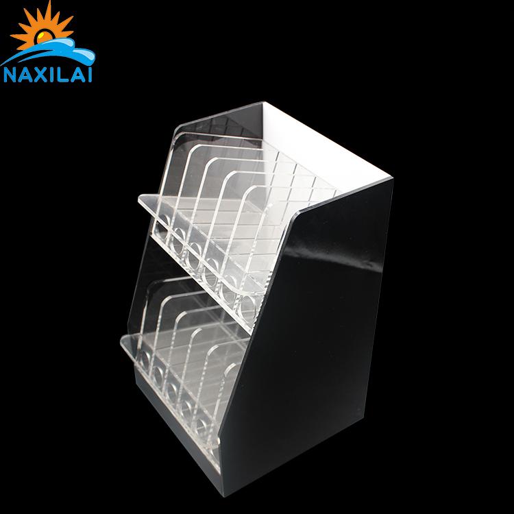 NAXILAI pequeña caja de acrílico cuadrada a medida con tapa con contenedor cubo de azúcar
