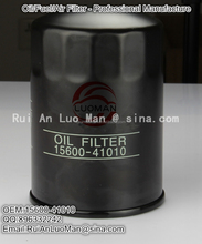 2015 top quality China manufacturer Applicable for TOYOTA OEM 15600-41010 90915-TD004 engine Oil filter