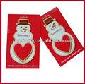 De lujo de dibujos animados de navidad tarjetas de felicitación/tarjetas de papel