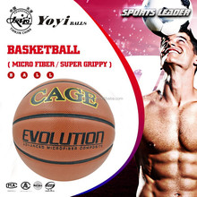 the best micro fiber basketball, with pimpled channel groove line