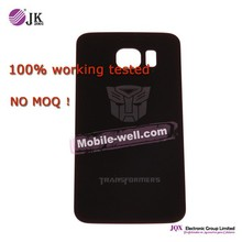 [JQX] 2015 pattern drawing for samsung s6 g920 gold plating back cover