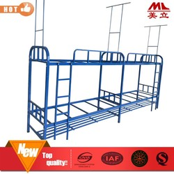 Best selling customized KD structure school dormitory bunk bed frame