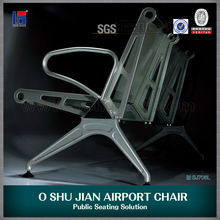 silla del aeropuerto con aluminio