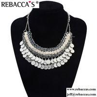 Silver Jewelry Petal Drop Pendant in Satin